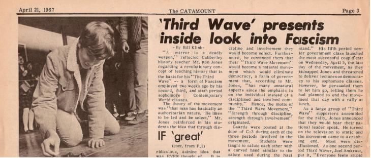 third wave newspaper