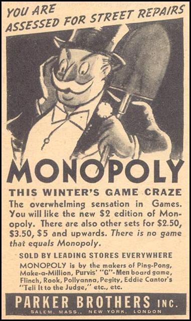 Monopoly ad
