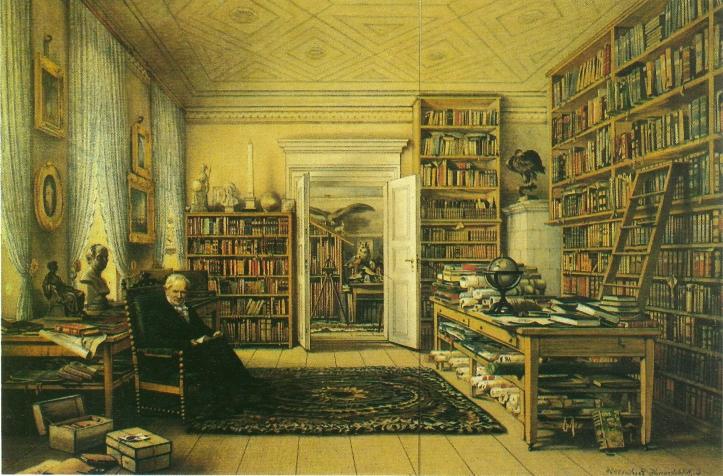 Arbeitszimmer_des_Alexander_von_Humboldt_in_Berlin,_Oranienburger_Str._67_(Gemälde)