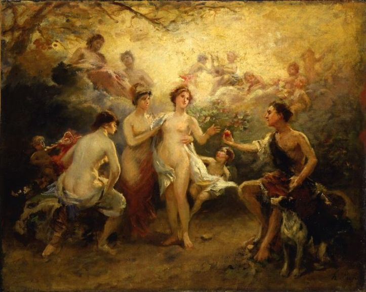 800px-Picou,_Henri_Pierre_-_The_Judgement_of_Paris_-_19th_century