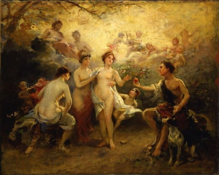 800px-Picou,_Henri_Pierre_-_The_Judgement_of_Paris_-_19th_century