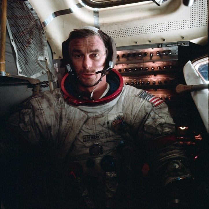 cernan last man on the moon lunar module