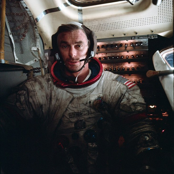 cernan last man on the moon lunar module