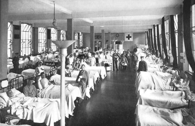 HydeParkWard WW1 Hospital