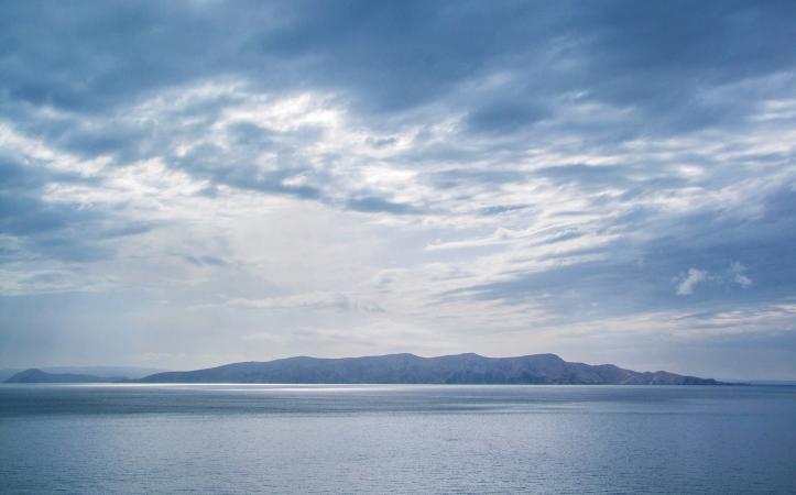 Deserted Island from far away