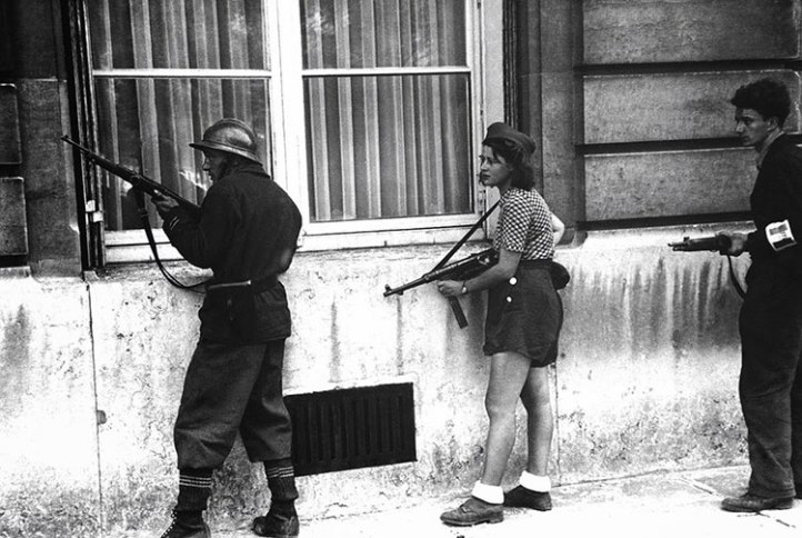 Simone Segouin Resistance française Women French resistance
