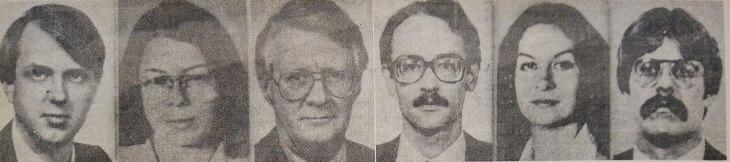 Six US diplomats who escaped Tehran